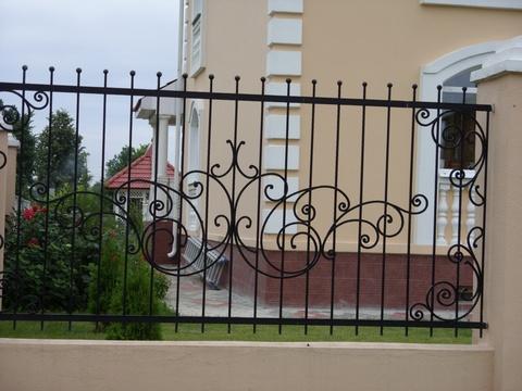 Кованый забор N-3