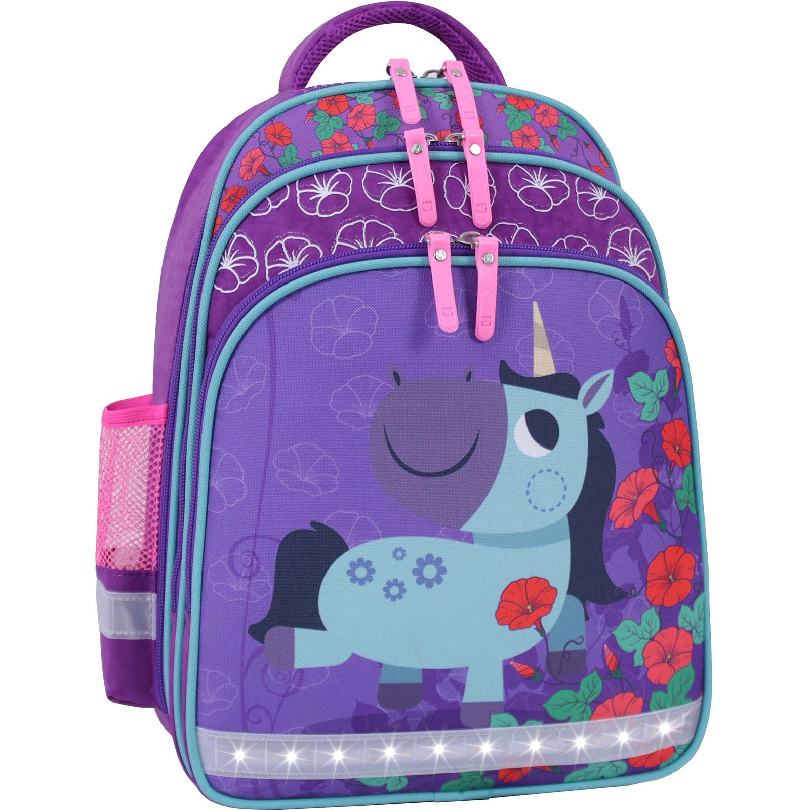 Рюкзак школьный Bagland Mouse 143 фиолетовый 498 (0051370) фото 2