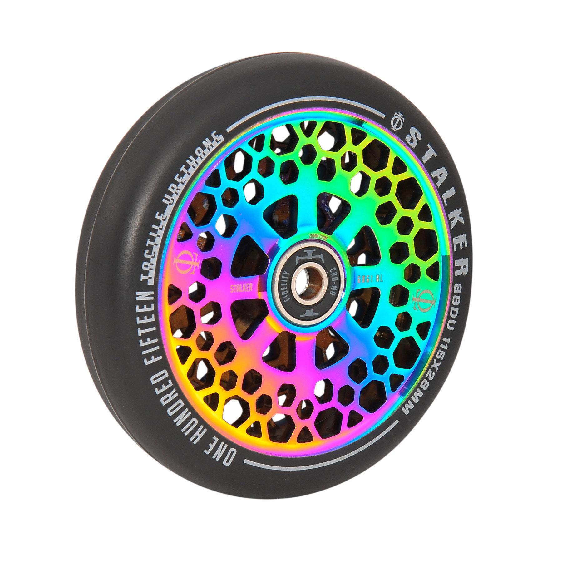 Пара колёс для самоката OATH Stalker (Neo Chrome)