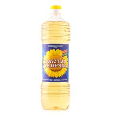 """Масло """"Золотая семечка"""" подсолнечное рафинированное, 1 л"""