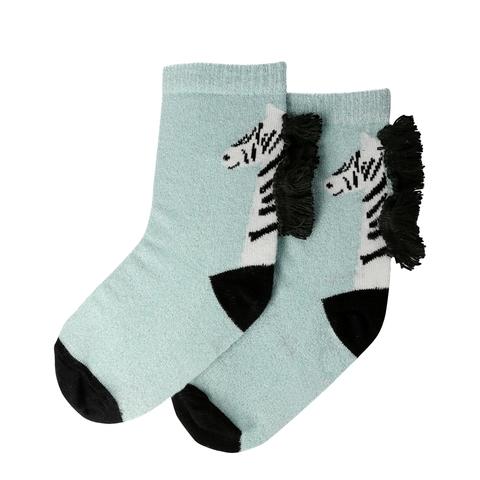 Носки с принтом зебра