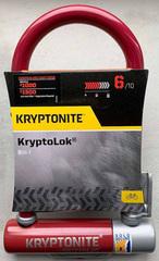Замок-скоба велосипедный Kryptonite U-locks Kryptolok Mini-7 FlexFrame (бордовый) - 2