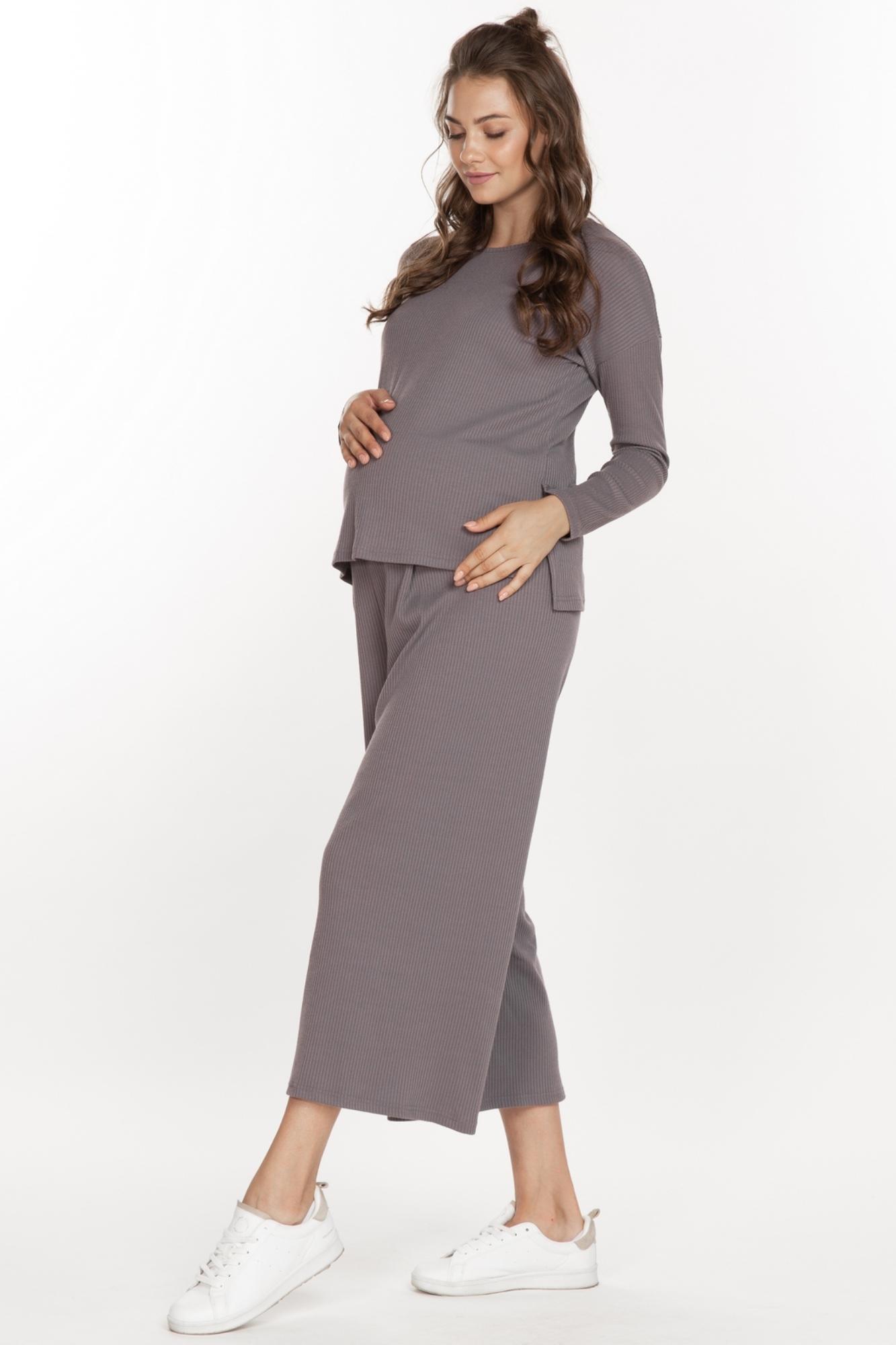 Костюм для беременных 11393 кофе-латте
