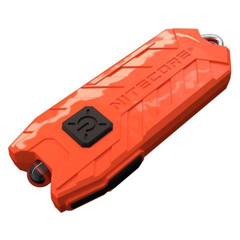Фонарь брелок Nitecore Tube красно-оранжевый лам.:светодиод.x1 (16446)