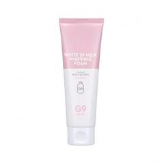 Пенка для умывания осветляющая Вerrisom G9 White In с молочными протеинами 120 мл