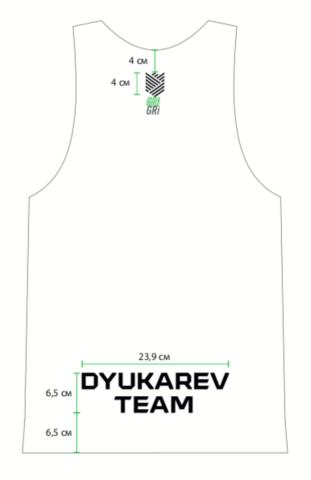 Майка клубная GRi Dyukaev team, eng, женская