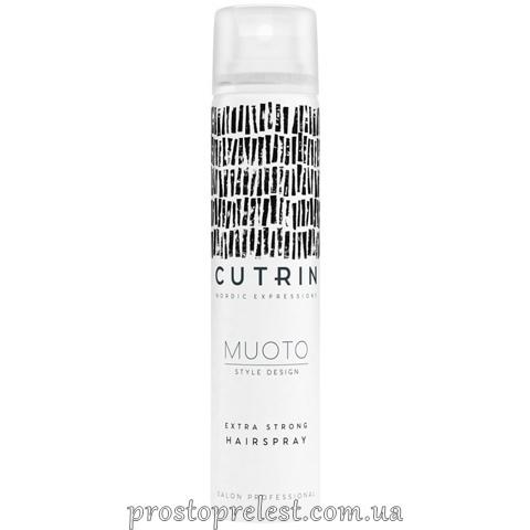Cutrin Muoto Extra Strong Hairspray - Лак экстрасильной фиксации