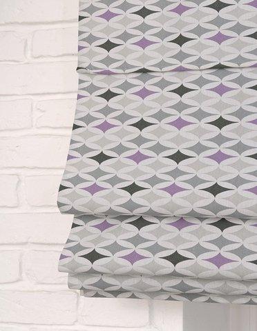 Римская штора Изуми серый