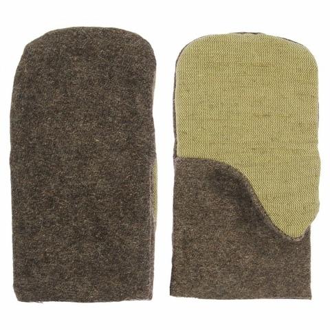 Рукавицы суконные с брезентовым наладонником