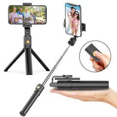 Монопод-штатив для селфи selfie stick с пультом Bluetooth