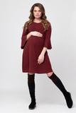 Платье для беременных и кормящих 09076 розовый