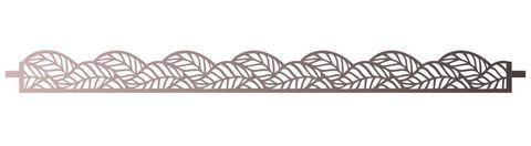 Трафарет для шоколада №2049 - Листья