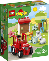Lego Duplo Farm Tractor & Anima l Care