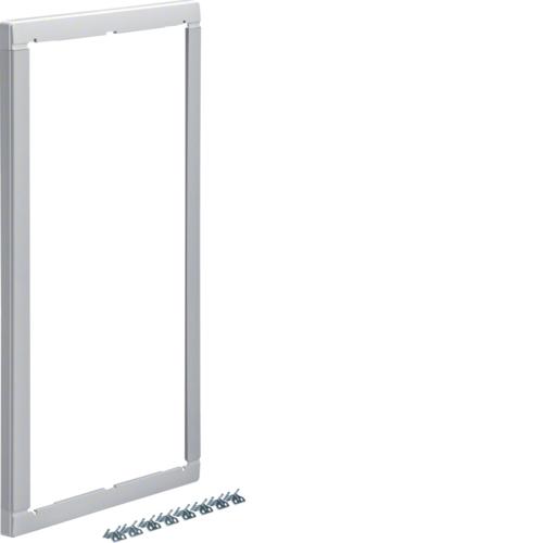 Повышающая наружная рамка без дверцы 25мм, Volta 3-рядный RAL9010
