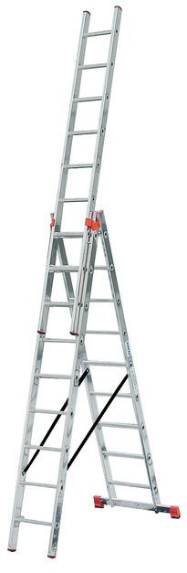 Трехсекционная универсальная лестница TRIBILO 3х10