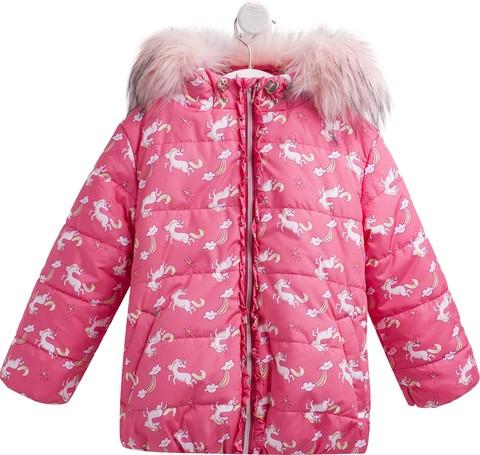 КТ199 Куртка для девочки зимняя