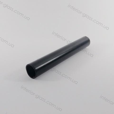Труба, штанга D=18 мм для душевых кабин T-18 BLK нержавейка чёрная матовая