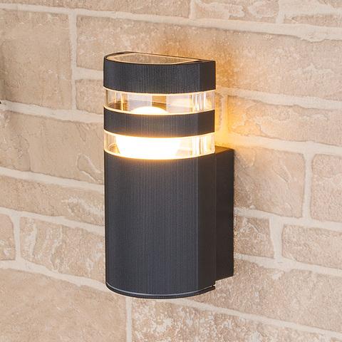 Уличный настенный светильник 1444 TECHNO черный