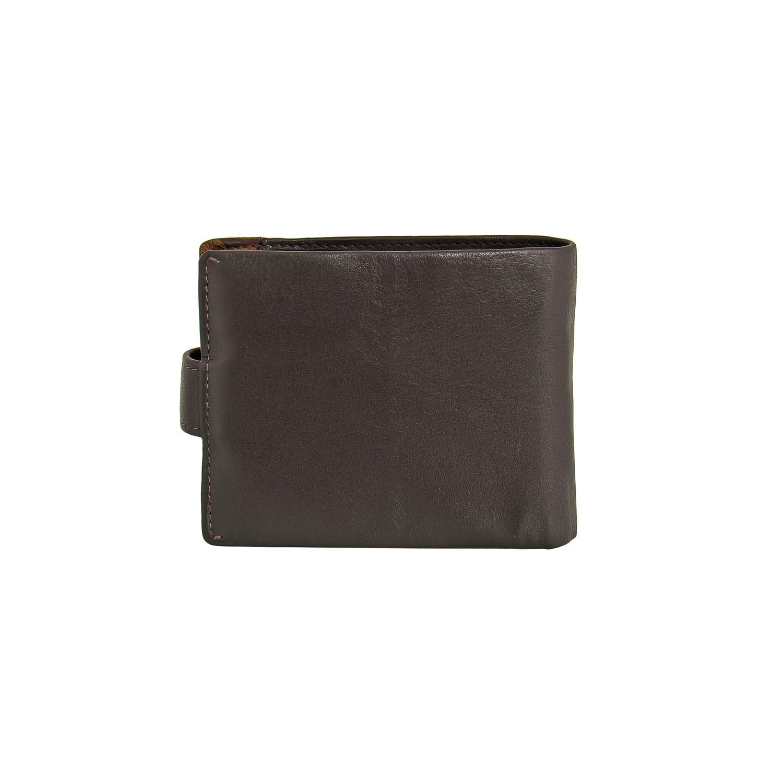 B123161R Castanho - Портмоне с RFID защитой MP