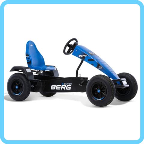 Веломобиль Extra Sport Blue BFR