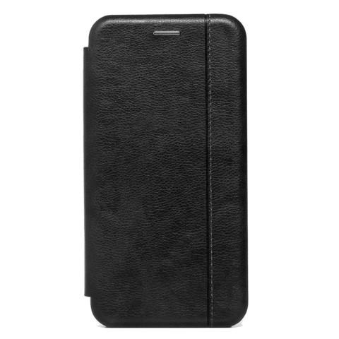 Чехол книжка для iPhone 12 Pro Max   магнит подставка черный