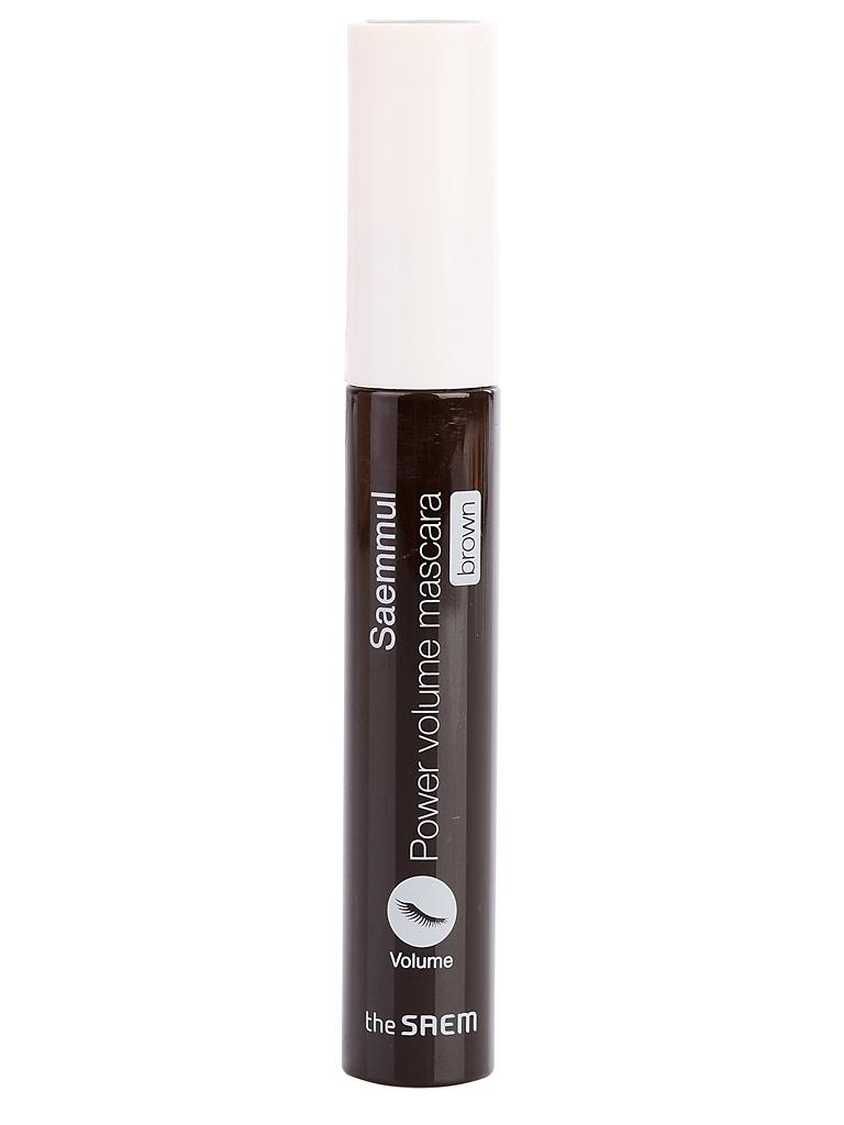 Туши Тушь для ресниц коричневая the Saem Saemmul Power Volume Mascara - Brown i16850_1484598042_10.jpg
