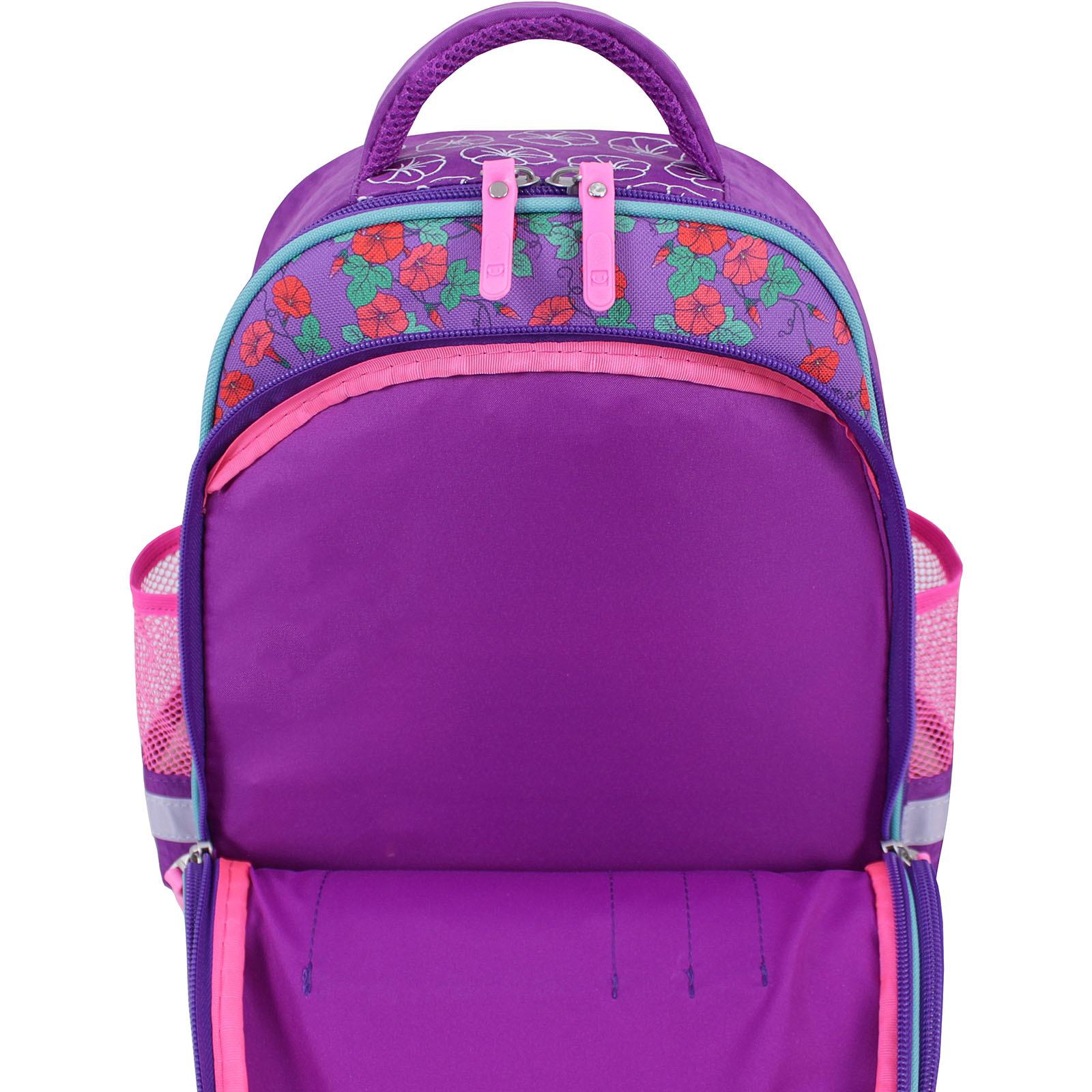 Рюкзак школьный Bagland Mouse 143 фиолетовый 498 (0051370) фото 5