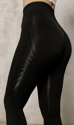 Лосины Seamless Lines Black