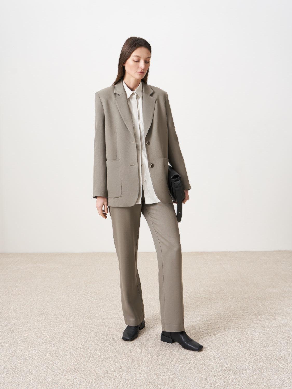 Жакет Амстердам удлиненный с карманами
