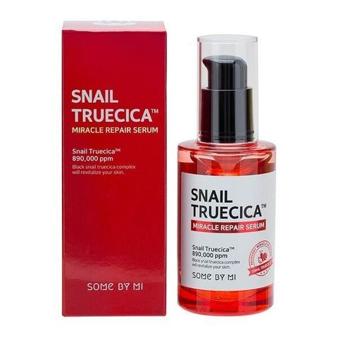 Some By Mi Snail Truecica Miracle Repair Serum Восстанавливающая сыворотка с муцином чёрной улитки