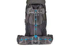 Рюкзак туристический Thule Guidepost 75L синий - 2