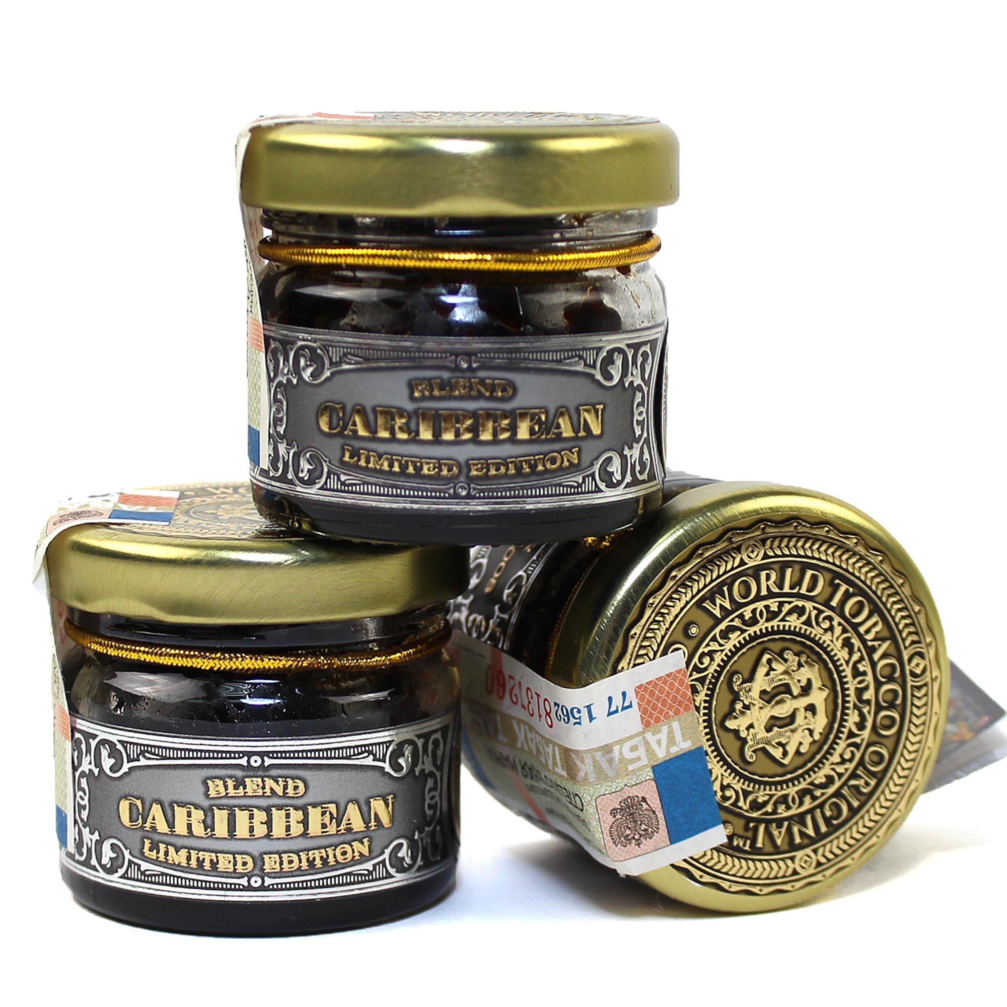 Табак для кальяна WTO Caribbean blend Black currant 20 гр