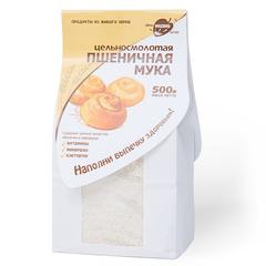 """Мука """"Образ жизни"""" пшеничная цельносмолотая 500г"""