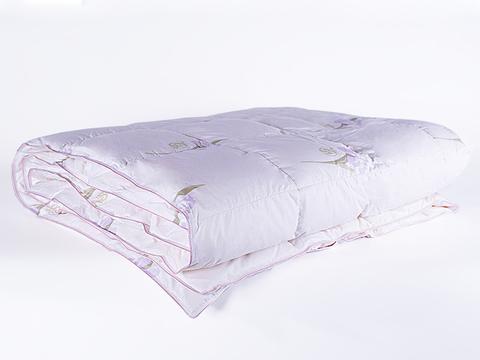 Одеяло пуховое кассетное теплое 220х240 Царственный ирис