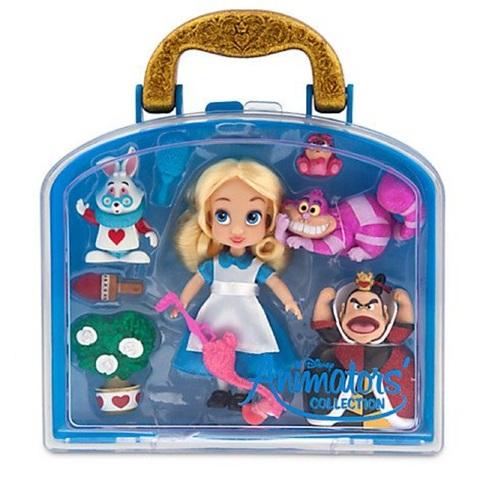 Дисней Алиса в стране чудес набор с мини-куклой 13 см