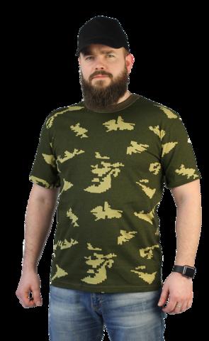 Купить камуфляжную футболку граница - Магазин тельняшек.ру 8-800-700-93-18