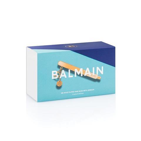 Balmain Заколка-слайд с подвесками цвет золото Limited Edition Slide Jewelery B