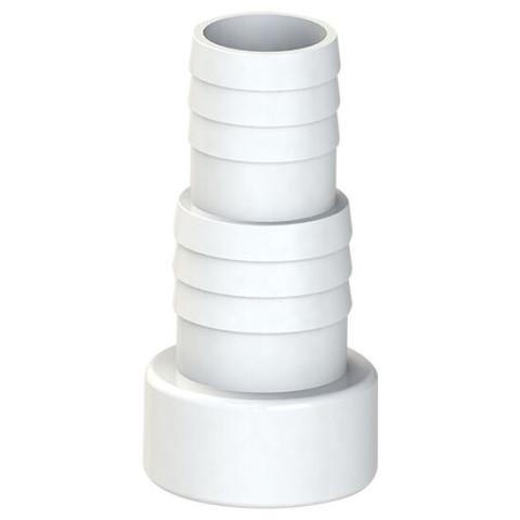 Соединитель шланга Aquaviva, клеевой (32/38х50 мм) / 27328