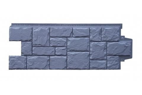 Фасадные панели  GRAND LINE (ГРАНД ЛАЙН) Крупный Камень Графит