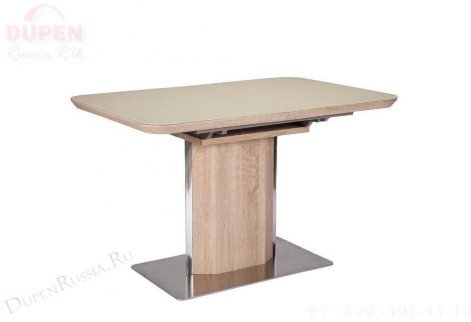 Стол обеденный AVANTI CAMPO (120) OAK/CREAM (дуб/крем)