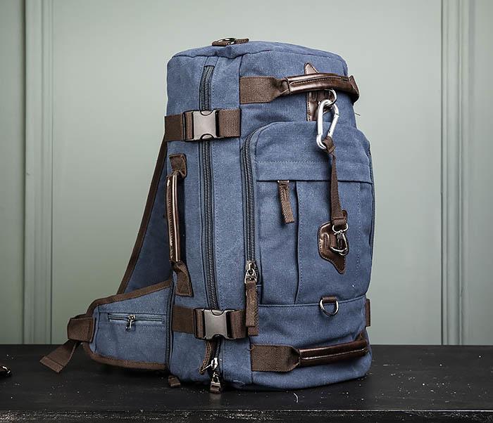 BAG479-3 Большая мужская сумка рюкзак трансформер