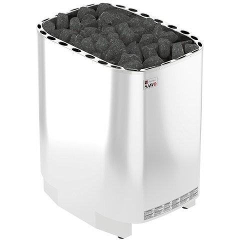 Электрическая печь SAWO SUPER SAVONIA V12 SAV-240NS-V12-Z (24 кВт, выносной пульт, внутри оцинковка, снаружи нержавейка)
