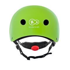 Шлем защитный детский Kinderkraft Safety Green с наклейками