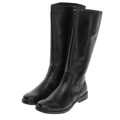 559570 сапоги женские черные. КупиРазмер — обувь больших размеров марки Делфино