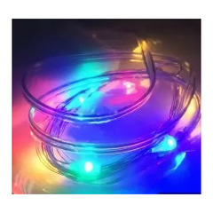 Светодиодная нить разноцветная 2м