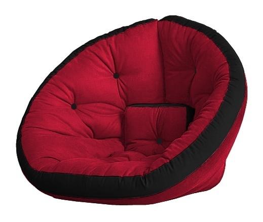 Универсальные кресла Кресло Farla Lounge Красное с чёрным red_bl_bl.jpg