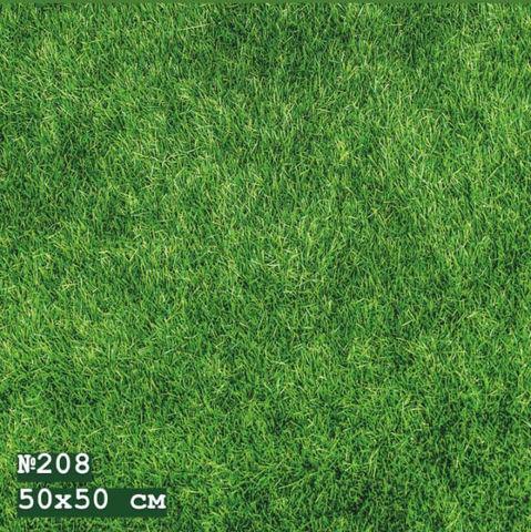 Фотофон виниловый «Зеленый газон» №208