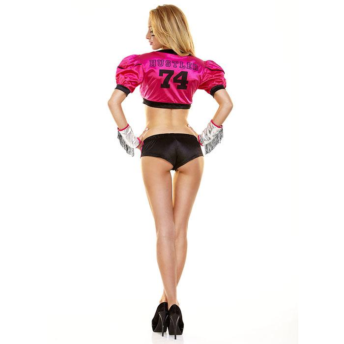 Розовый костюм футболистки TIGHT END