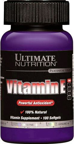 Витамин Е Ultimate Nutrition Vitamin E