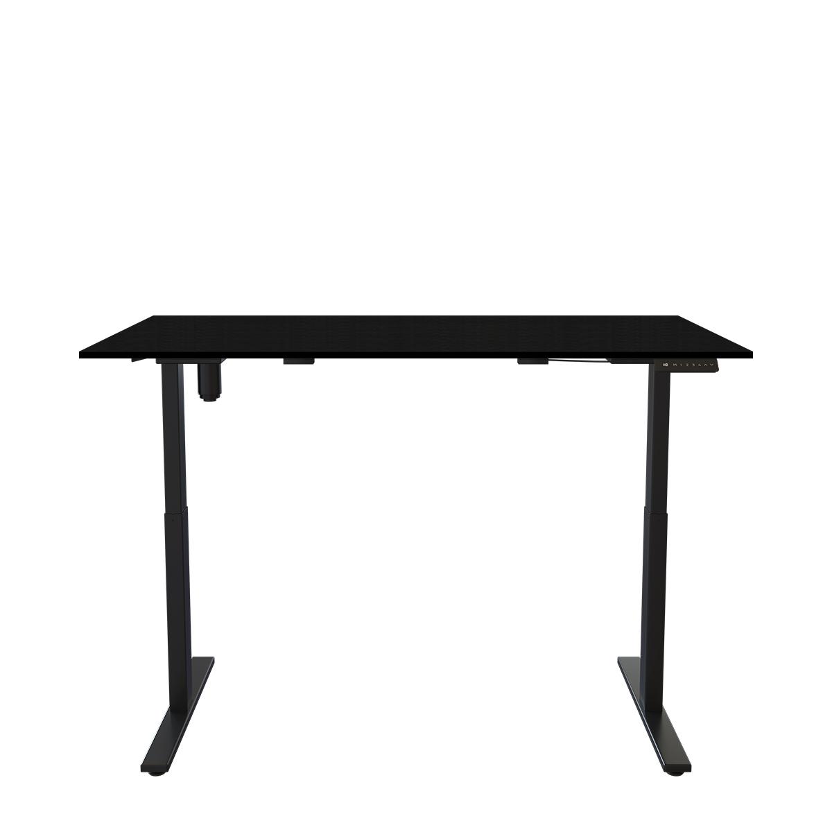 Стол с регулируемой высотой E-DESK A3 SERIES - Черный/Черный